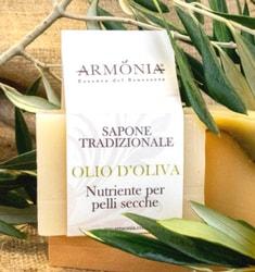 Sapone all'Olio di Oliva Armonia-essenza-del-benessere