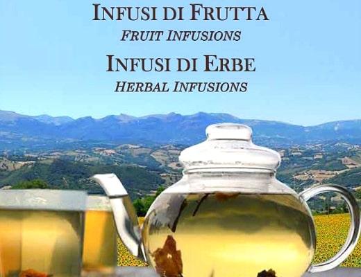 """Catalogo """"Infusi di Frutta"""" e """"Infusi di Erbe"""""""